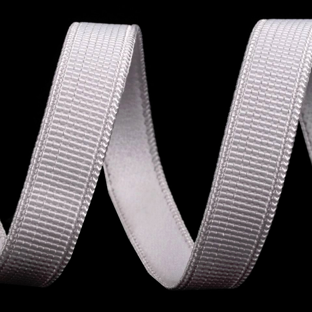 BH-Trägergummiband - 10mm - Weiß (1)